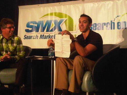 Yusuf Mehdi and Danny Sullivan