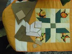 patchwork - molde para patchwork (Patchwork Sonia Ascari) Tags: flores linhas jardim toalha orquideas molde bordados tecidos patchworkmolde