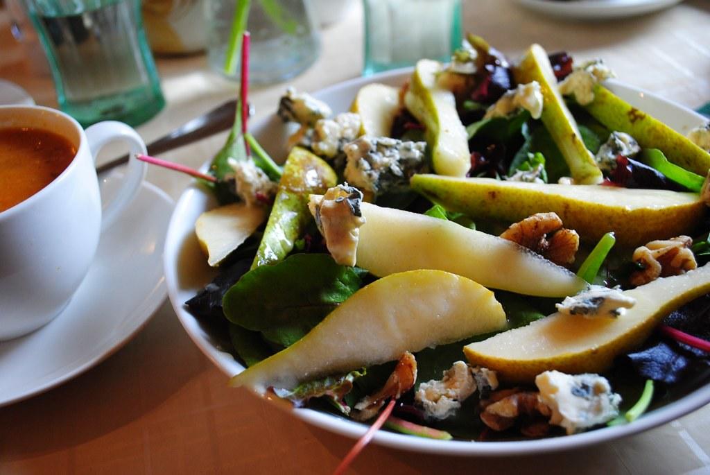 pear + gorgonzola