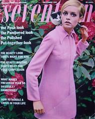 Seventeen magazine september 1967 (Simons retro) Tags: magazine mod 60s september 1967 1960s twiggy seventeen
