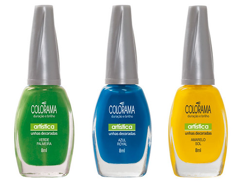 esmaltes das cores do brasil