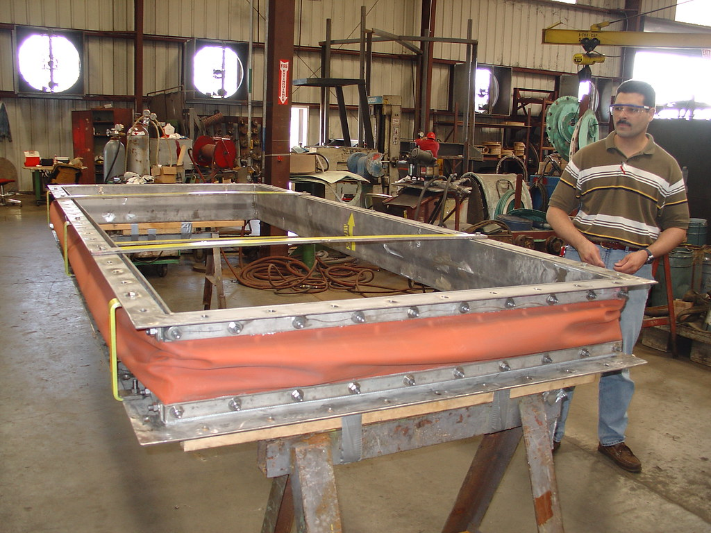 Fabric Expansion Joints for Power System Company in Texas
