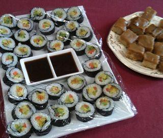 Cooking for a Friend Sushi Plate