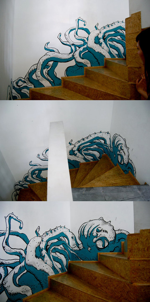 mural at sicario