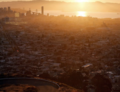 city sunrise (louie imaging) Tags: california city morning light sun detail fog modern sunrise landscape concrete gold golden san francisco paradise mood glow cityscape dynamic expression steel air jazz romance heat rays transparent today thermal jazzy interpret heated mooda