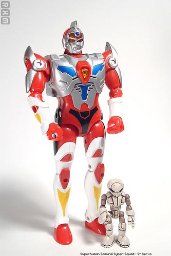 Superhuman Samurai Syber-Squad - 9inch Servo