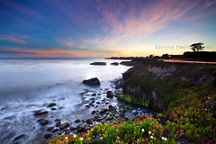 Far Away Blues (Jinna van Ringen) Tags: california santa longexposure sunset sea cliff usa santacruz seascape tree america canon landscape photography evening coast unitedstates ringen explore cruz lee nd elusive van frontpage jorinde jinna neutraldensity graduatednd canon1740mm leefilters elusivephoto elusivephotography 5dmarkii jorindevanringen jinnavanringen
