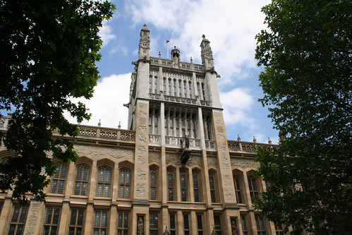 Maughan Library and ISC Garden