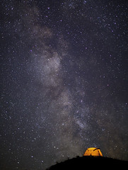 Milky Way Lodge (Ben Canales) Tags: camping camp sky night oregon dark way stars outdoors star twilight ben outdoor hiking great deep tent deschutes galaxy backpacking universe milky ems starry maupin tenting headwall milkyway canales