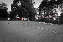 309 - Gooooooooal! (Petri Karvinen) Tags: world africa light game cup field ball football goal goalie paint play kick soccer south free player 365 2010