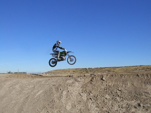 Jumping my KX250