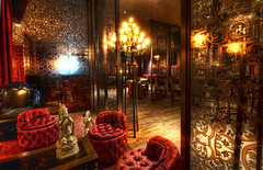 The Red Room Revisited (Stuck in Customs) Tags: world city travel red urban music usa chicago west color crimson architecture bar floors digital america scarlet photography design blog illinois high midwest dynamic stuck chairs furniture decorative united lounge rich north january indoor cocktail processing curtains rug imaging nightlife states ornate oriental intimate range mid metropolitan hdr tutorial trey screens rococo travelblog customs toile 2010 chicagoland dearborn windycity ratcliff crimsonlounge hdrtutorial stuckincustoms treyratcliff hardood stuckincustomscom