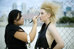 Behind The Scenes: Judy Is A Punk (juliaarielle) Tags: make up is punk ramones behind judy scenes the a