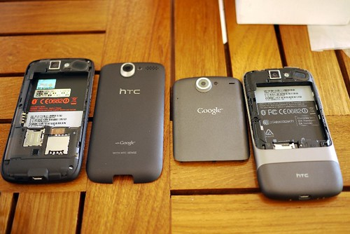 HTC Desire n Nexus One