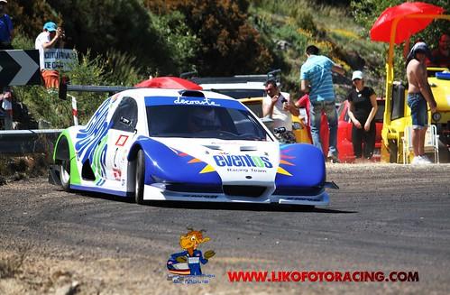 Iñigo Martínez (Silver Car CS2) ganador I Subida a Candelario 2009