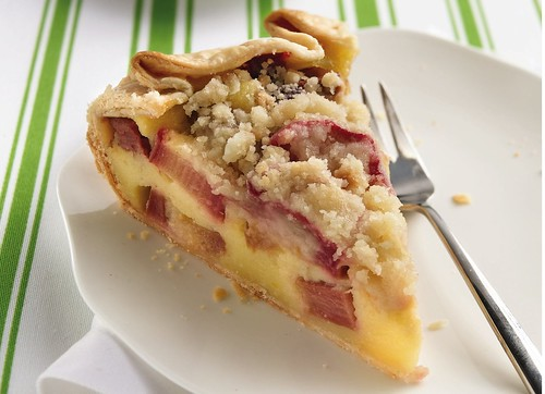 Country Rhubarb Crostata Recipe