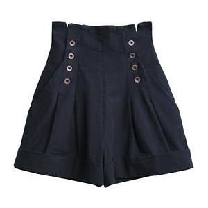 shorts cintura alta planet girls