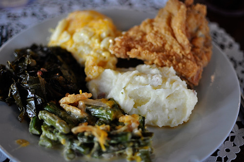 Paula's Fried Chicken Dinner