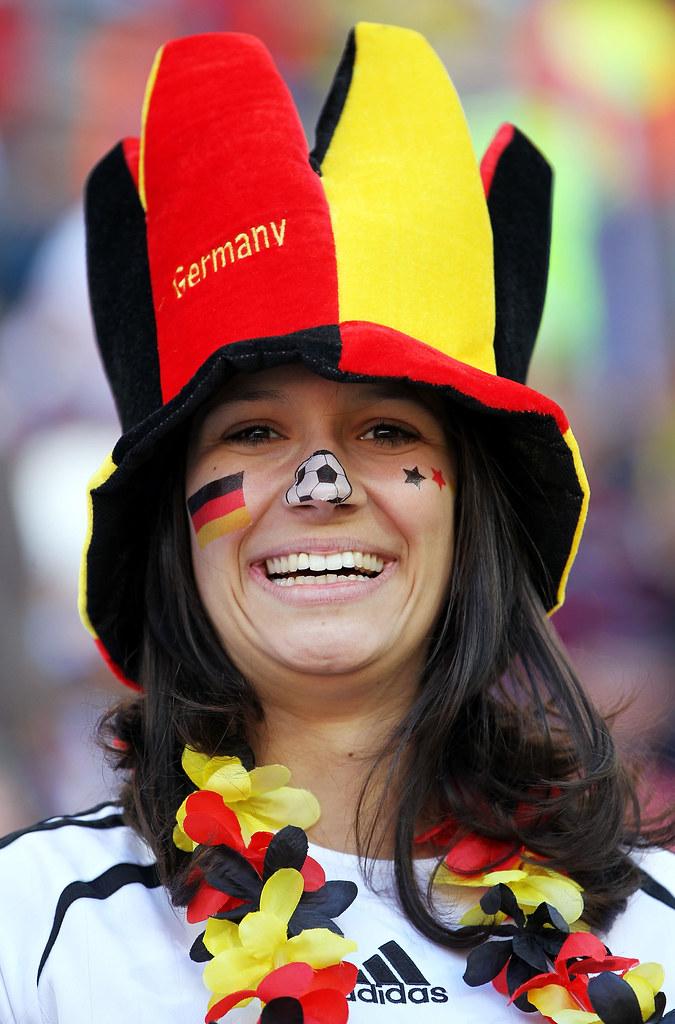 Mundial Sudáfrica hinchas Alemania