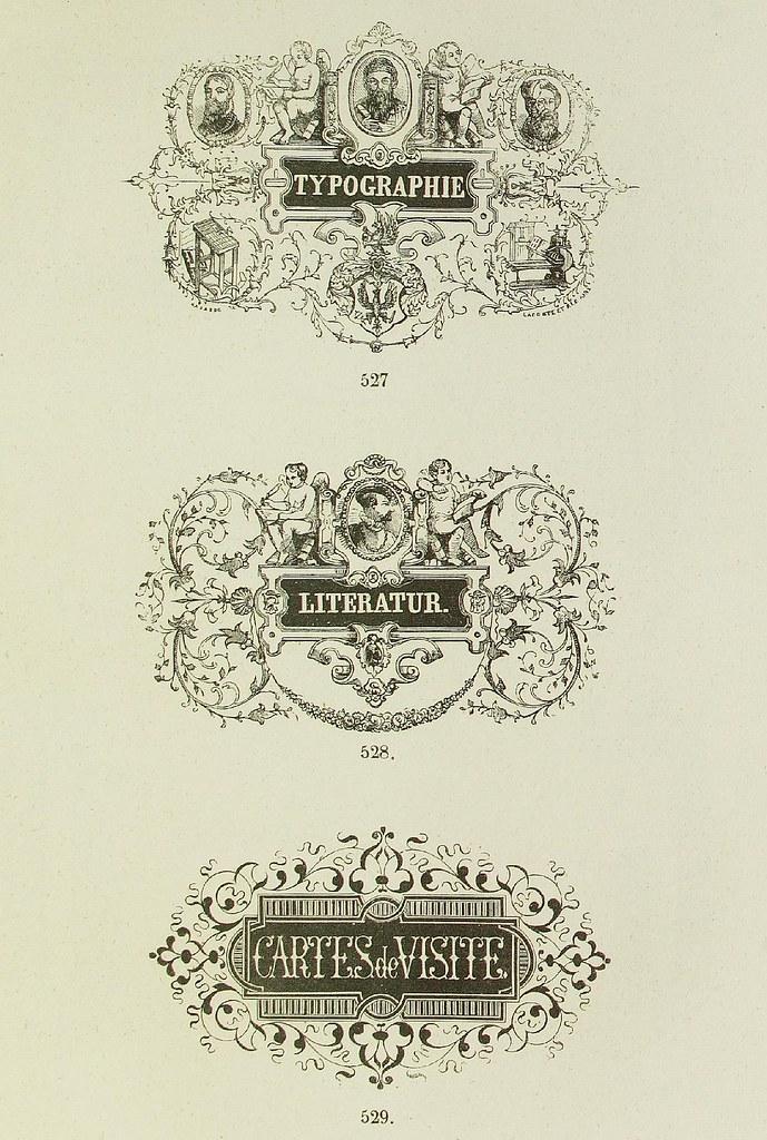 Schrift- und Polytypen-Proben BG Teubner, 1846 o