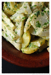 Jerusalem Artichoke, Celeriac and Potato Salad© by Haalo