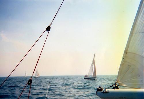 ohio lake water sailboat boat sailing cleveland erie