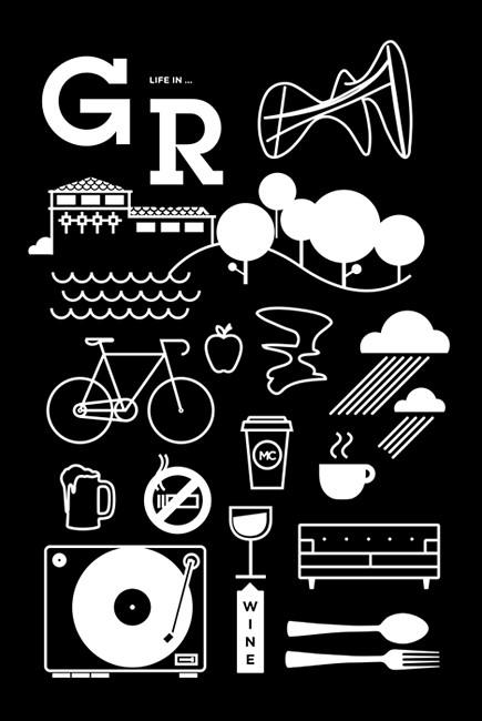 DEC Poster - Life in Grand Rapids