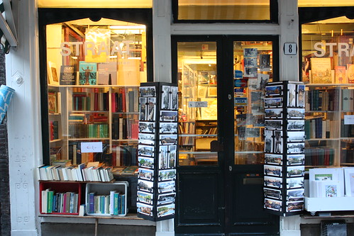 Livraria em Amsterdam