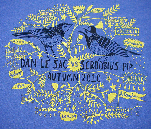 Le Sac vs Pip Autumn Tour T-Shirt Design