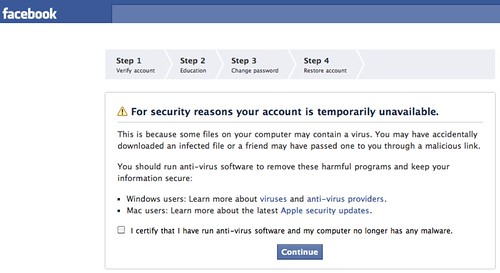 To sign facebook in me My computer