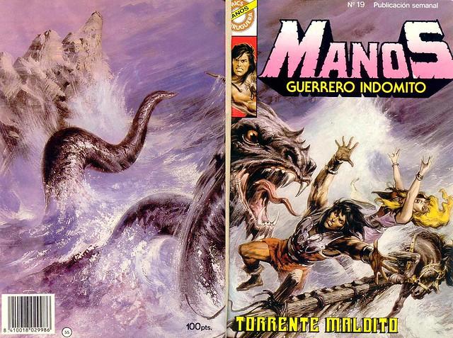 Manos Guerrero Indomito, Cover #19