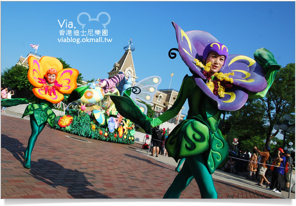 【香港迪士尼】跟著via玩香港(3)~迪士尼卡通人物歡樂巡遊27