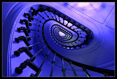 The Only Way Is Up (RattyBoots) Tags: paris stairs canon french shadows apartment stairway bannisters 7d swirl universal language canon1022 baluster
