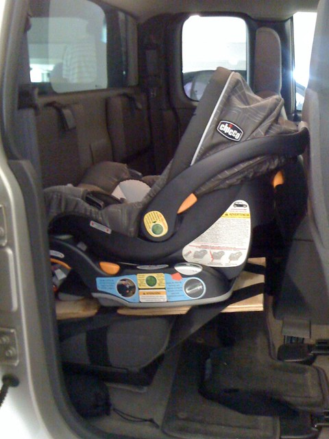 Nissan Frontier Extended Cab Baby Seat