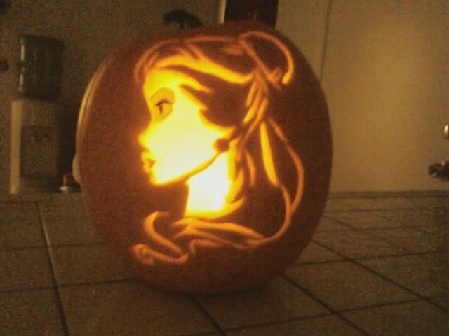 Halloween 2010 Part 7 Princess Pumpkins Patterns