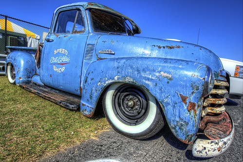 Rat Chevy Pickup at the