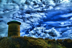 Watertower-Domburg (joesch4) Tags: cloud lighthouse holland clouds wolken zeeland netherland domburg oostkapelle dnnen