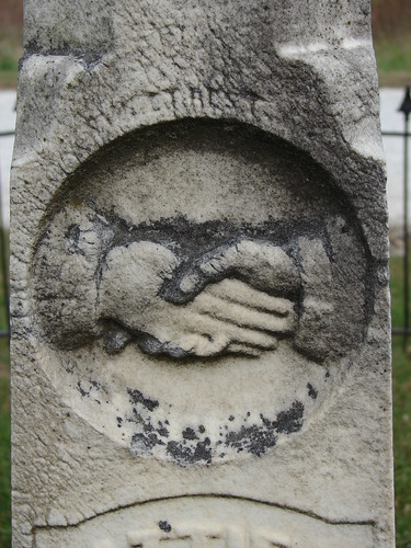 Tombstone Handshake