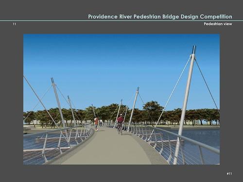 Providence River Pedestrian Bridge Design Finalists