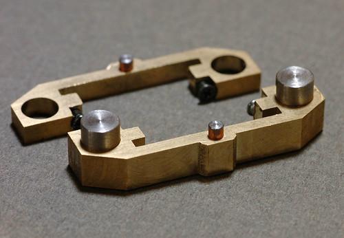 Parts of CCD tilt mechanism