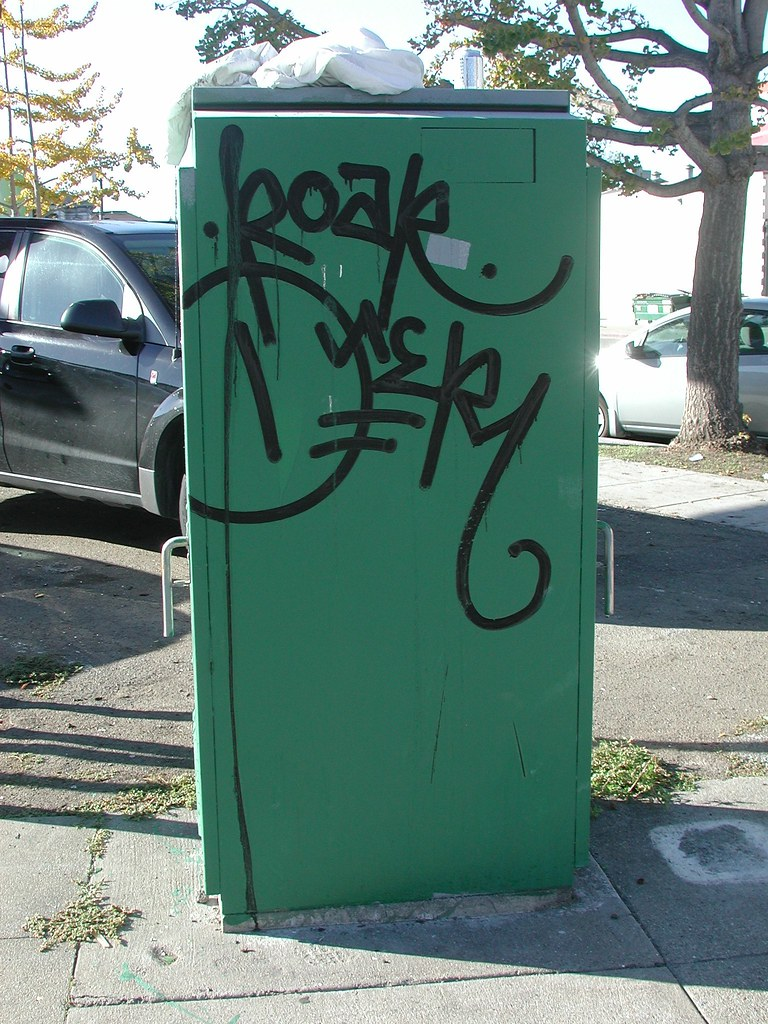 ROAR, Street Art, Graffiti, Oakland,