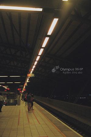 烏日高鐵站月台