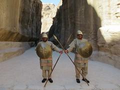 Petra Guards (D-Stanley) Tags: nabataean petra jordan