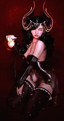 """I've caught your little fragile heart."" (Niifreya Resident) Tags: vincue cx cerberus xing aii tentacio konpeitou moon elixir cc coles corner"