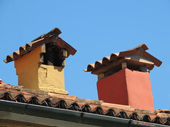 Chimneys of Burano (Shahrazad26) Tags: burano chimneys schoorstenen cheminées schornsteine venetië venice venezia venedig colors couleurs colours kleuren farben