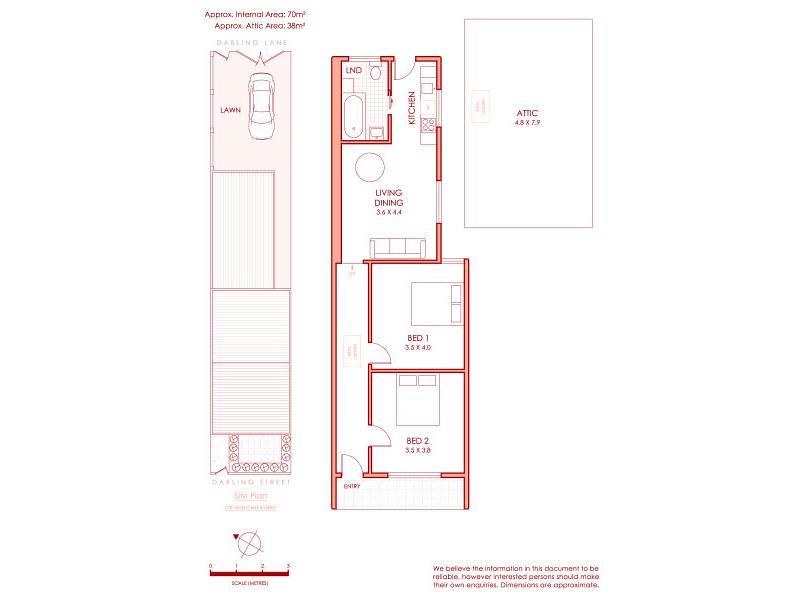 19 Darling Street floorplan