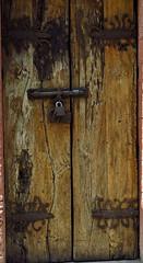 Beautiful old door : San Miguel de Allende (rainy city) Tags: olddoor sanmigueldeallende mexico hinges