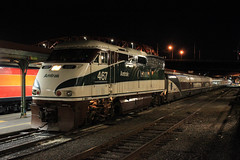 Amtrak Cascades (ScholzRUNNER) Tags: sp4449 sp spdaylight 4449 espee daylight trains steam steamlocomotive passengertrain portland oregon gs4 484 lima tracks transportation railroad southernpacificrailroad amtrak emd f59phi amtrakcascades