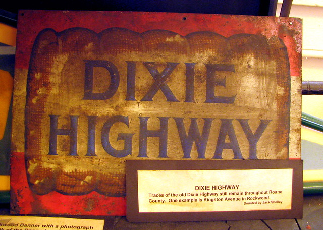 Vintage Dixie Highway metal sign