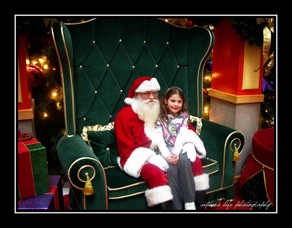 December 22nd - Visit with the mall Santa